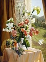 By The Window Fine Art Print