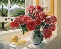 Hot Pink Roses Fine Art Print