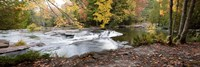 Bond Falls Panorama in Fall, Bruce Crossing, Michigan 09 Fine Art Print