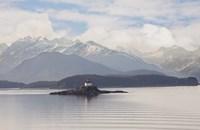 Eldred Rock Lighthouse, Alaska 09 Fine Art Print