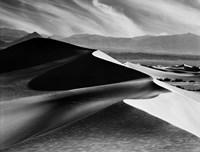 Dunes At Mesquite Flats Fine Art Print
