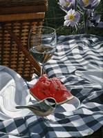 Checkered Cloth Fine Art Print