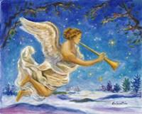 Christmas Angel - Joy to the World Fine Art Print