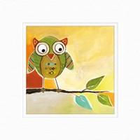 Owl Festival Square I Fine Art Print