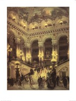 Le Couloir L'Opera Fine Art Print