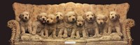 Golden Pup Line-Up Fine Art Print