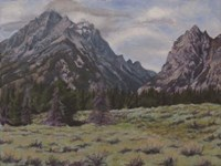 Teton View Fine Art Print