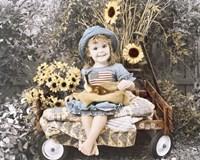 Sunflower Smile Fine Art Print