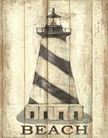 Light House Stripe Fine Art Print