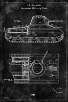 Tank1 Black Fine Art Print