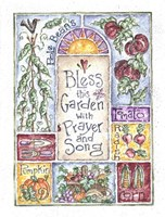 Bless the Garden with Prayer and Song Fine Art Print