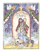 Born King of Angels Fine Art Print