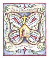 May the Gentle Spirit of Christmas Fine Art Print