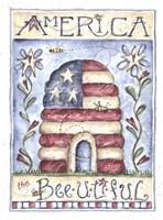 America the Beeutiful Fine Art Print