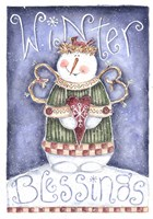 Winter Blessing Fine Art Print