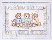 Baby Bears Fine Art Print