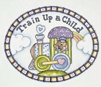 Train Up A Child - Logo Fine Art Print