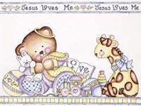 Jesus Loves Me 2 Fine Art Print