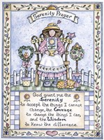 Serenity Prayer Fine Art Print