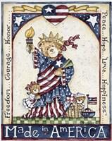 Made In America Fine Art Print