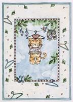 Hanging Kitty Fine Art Print