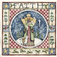 Christmas Faith Fine Art Print