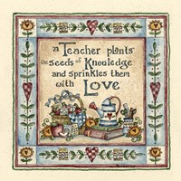 Seeds Of Knowledge Fine Art Print