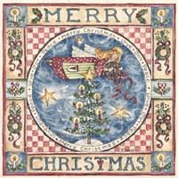 Merry Christmas Angel Fine Art Print
