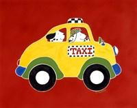 Taxi! Fine Art Print