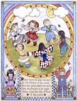 Jesus Loves The Little Children Fine Art Print