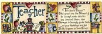 Teacher's Prayer Fine Art Print