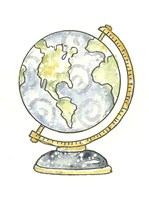 School Globe Fine Art Print