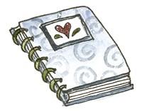 School Spiral Notebook Fine Art Print