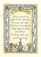 Teacher's Prayer 2 Fine Art Print