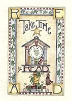 Take Time To Read Fine Art Print