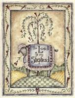 The Lord Is My Shepherd Fine Art Print