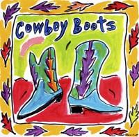 Cowboy Boots Fine Art Print