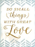 With Great Love Fine Art Print
