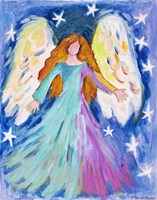 Vibrant Angel Fine Art Print