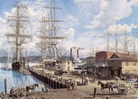 Vallejo St. Wharf Fine Art Print