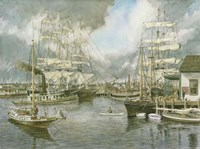 Generic Seaport Fine Art Print