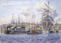 Long Wharf,  Santa Monica Fine Art Print