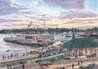 Harbor Springs Mich. Fine Art Print