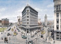 Oakland Framed Print