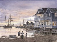 Nantucket Sunset Fine Art Print