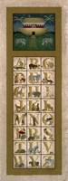 Noah's Ark ABC Fine Art Print