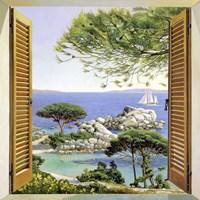 Finestra sul Mediterraneo Fine Art Print