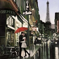 Romance in Paris Fine Art Print