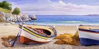 Pomeriggio Mediterraneo I Framed Print