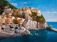 Manarola (Le Cinque Terre) Fine Art Print
